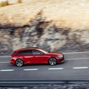 Alquiler Audi RS4