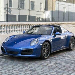 Alquiler Porsche 911 Targa 4S