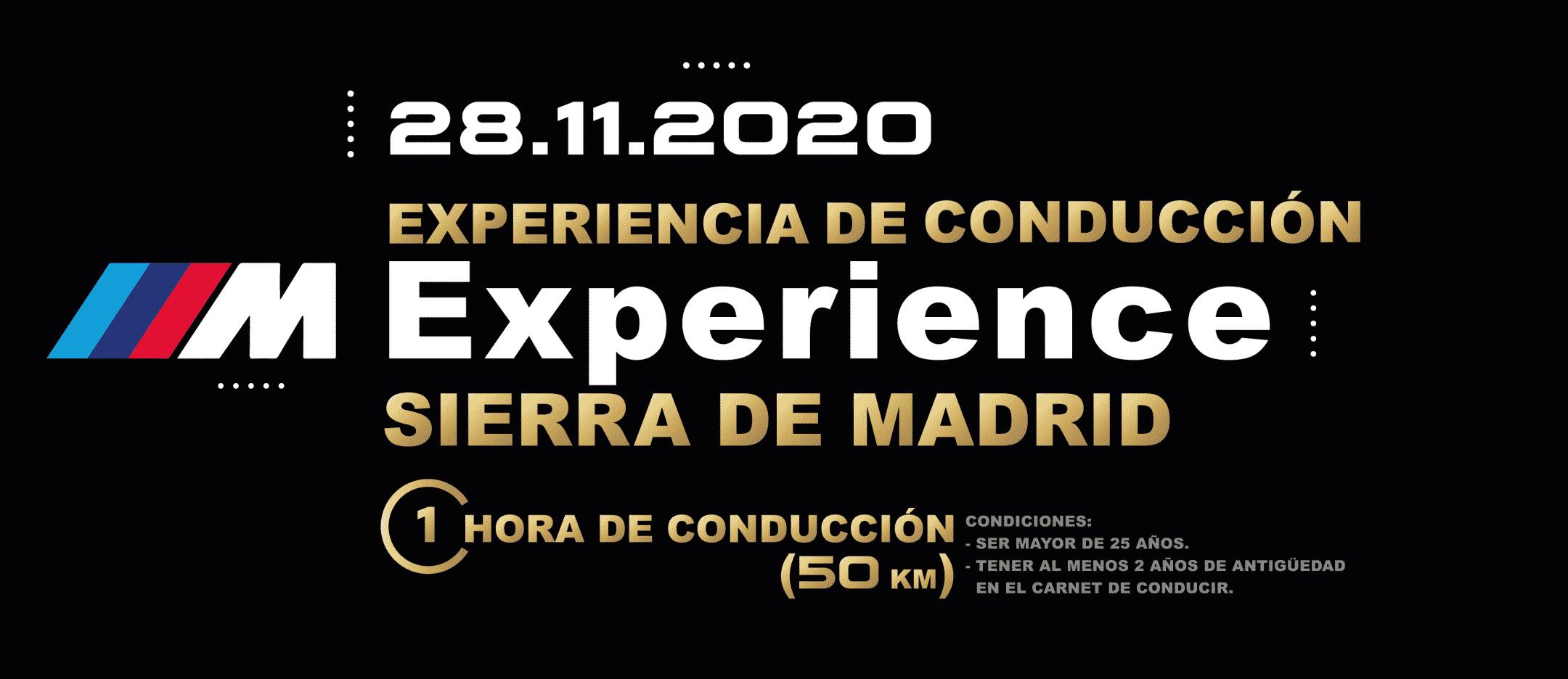 M Experience sierra madrid