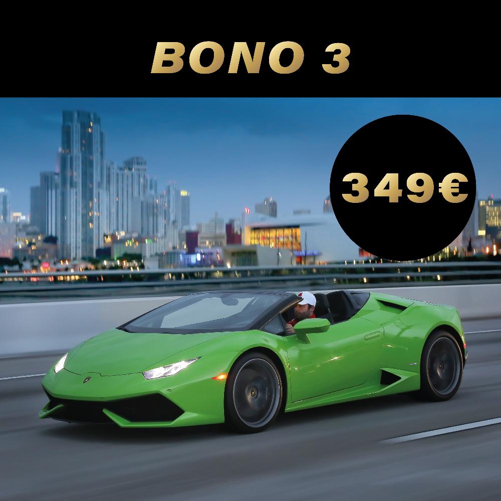 Experiencia de conducción bono 3