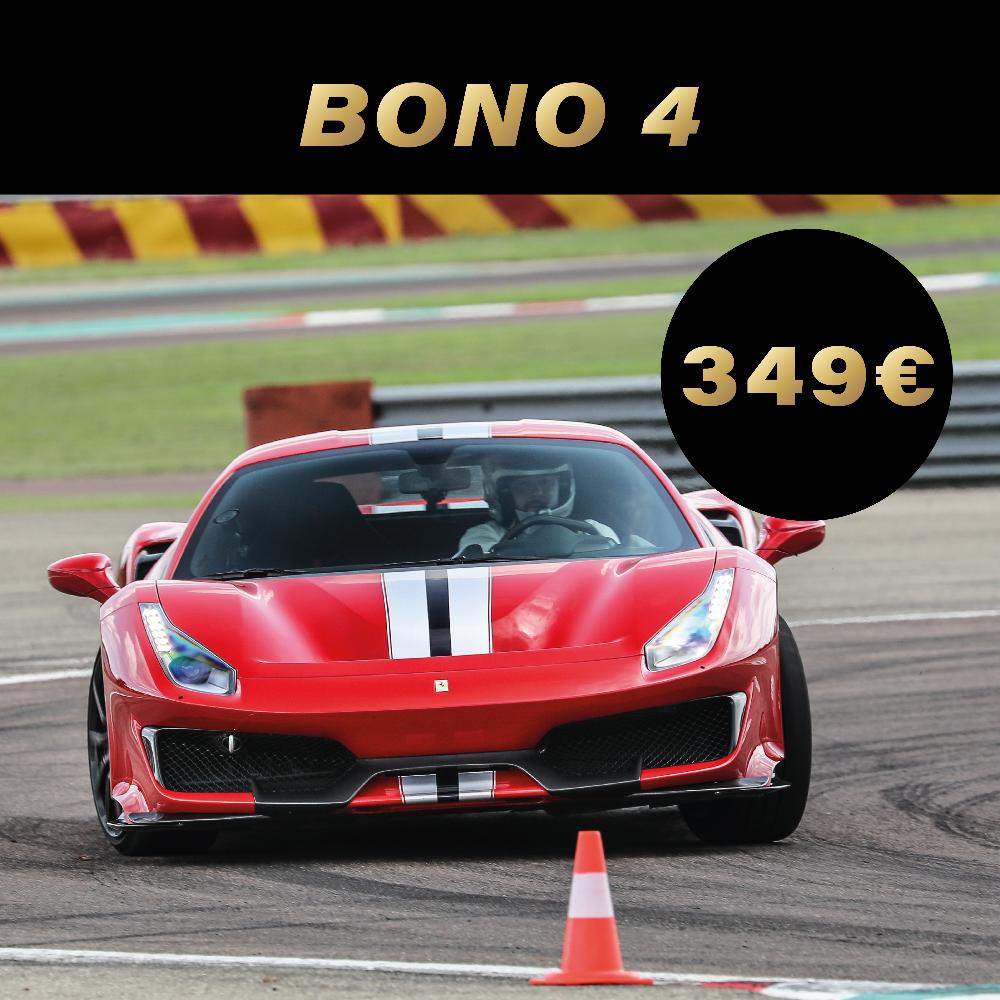 Experiencia de conducción bono 4